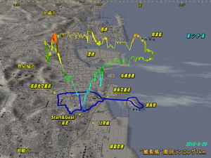 20100929running7km
